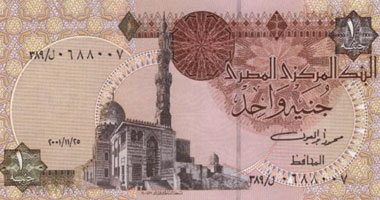 أسعار العملات الأجنبية أمام الجنيه المصرى