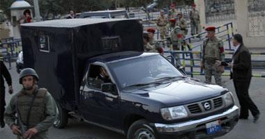 إصابة 7 أفراد من الأمن المركزى فى حادث انقلاب سيارة شرطة بسوهاج