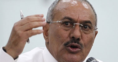الرئيس اليمنى المخلوع على عبد الله صالح