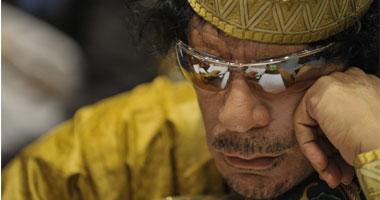 الرئيس الليبى الراحل معمر القذافى