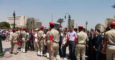 القوات المسلحة أثناء تقديمها العرض العسكرى