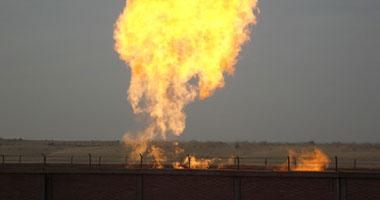 انفجار مروع الغاز المؤدى إسرائيل