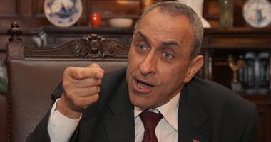 أيمن فريد أبو حديد وزير الزراعة
