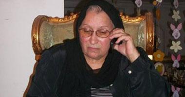 السيدة ليلى مرزوق، والدة الشهيد السكندرى خالد سعيد