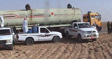 مهزلة البدو:أهالى سيناء يستولون على شاحنة سولار ثانية لقوات حفظ السلام s4201213960.jpg