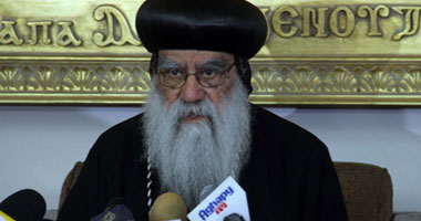 الأنبا باخوميوس يهنئ مرسى و قنديل بعيد الأضحى المبارك