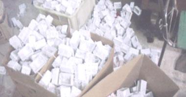 ضبط 1482 قطعة أدوات كهربائية مجهولة المصدر