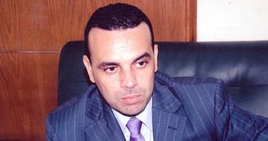 سعد أبو صندوق ممثلا التليفونات والرجاء فى قرعة الدورى بالزمالك امس
