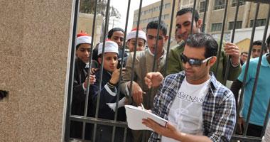 سعد الصغير فى اللجنة الانتخابية