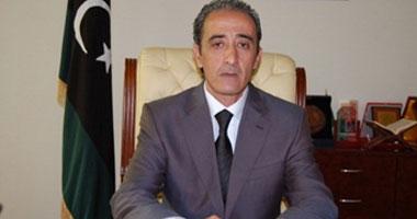 وزير الثقافة الليبى الحبيب محمد الأمين