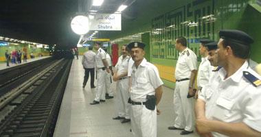مترو الأنفاق يذيع الأغانى الوطنية