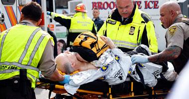 شرطة بوسطن: قتيلان و 22 جريحا حصيلة حادث بوسطن حتى الآن  S4201315225459