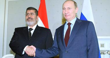 قلق أمريكى من التعاون النووى بين مصر وروسيا بعد زيارة مرسى لموسكو S420131914356