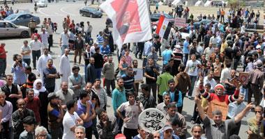 """مظاهرات بـ""""التحرير"""" تطالب برحيل """"مرسى"""".."""