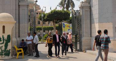 جامعة القاهرة خطة لتأمين الامتحانات وقدمنا الموعد تجنبا للعنف S4201410142555