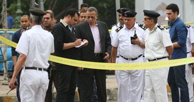 مدير أمن الجيزة يتفقد ميدان نهضة مصر ومحيط جامعة القاهرة