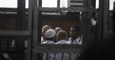 جانب من محاكمة المتهمين فى قضية رفح الثانية
