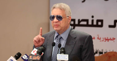مرتضى منصور يتهم الحضرى بأنه يحصن مرماه بالجن والشياطين