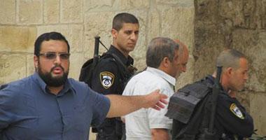 اعتقال ناشط فلسطينى