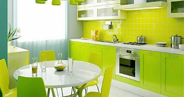 الوان دولاب مطبخ الألوان المبهجة لمطبخ عصرى ومريح لست البيت   اليوم السابع الوان دولاب مطبخ