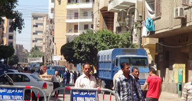 """""""جنايات المنيا"""" تحجز الحكم على 42 متهمًا باقتحام قسم العدوة لـ21 سبتمبر"""