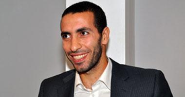 محمد أبو تريكة لاعب النادى الأهلى ومنتخب مصر السابق
