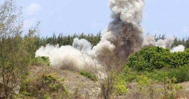 انفجار قنبلة بدائية أسفل محول كهرباء فى كفر ميت سهيل بالشرقية