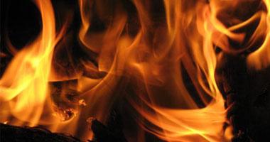 حريق محدود بالدير الأبيض سوهاج
