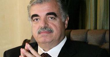 رئيس الوزراء اللبنانى رفيق الحريرى
