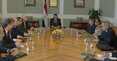 اجتماع موسع لمبارك لمناقشة زيارة اوباما للقاهره S5200924154810