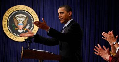 الرئيس باراك أوباما<br>