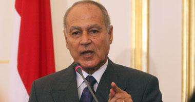 أحمد أبوالغيط وزير الخارجية