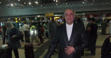 الدبلوماسى الإيرانى يغادر القاهرة بصحبة