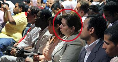 بالصور اول ظهور علنى لزوجة المستشار هشام البسطويسى مرشح الرئاسة القادمة S5201130142341