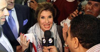 بالصور مي عز الدين بالهداية في استقبال هاله سرحان وزفة بلدي تعزف لها