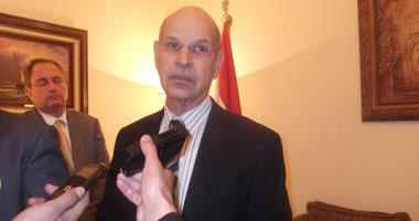السفير الإسرائيلى يغادر القاهرة