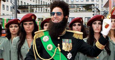 """بالصور.. بارون كوهين  مع """"The Dictator """" فى لندن"""