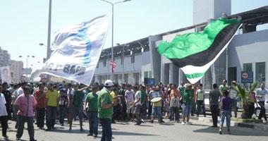جانب من احتجاجات الألتراس