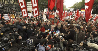 مظاهرات حاشدة بمختلف أنحاء إسبانيا – أرشيف