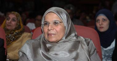 زوجة أبو الفتوح وبناته فى مؤتمر حملة ست مصرية اليوم 15/5/2012 , صورة زوجة أبو الفتوح
