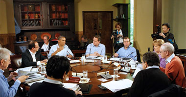 أوباما فى قمة الحلف الأطلسى
