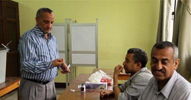 جانب من انتخاب المصريين