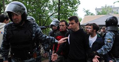السلطات الروسية تنقل نشطاء السلام الأخضر إلى مركز احتجاز بسان بطرسبورج
