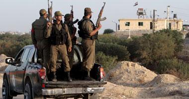 """بالصور.. حماس تفرض حالة الطوارئ """"القصوى"""" على الحدود مع مصر"""