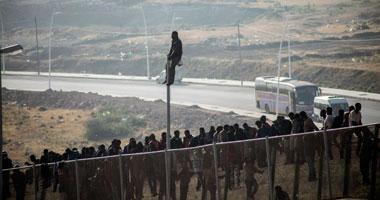 وصول 74 مهاجرا سوريا إلى مليلية آتين من المغرب