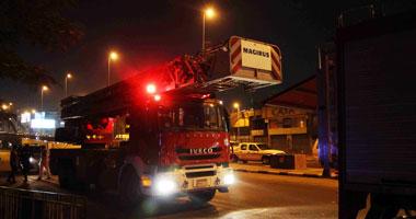 انفجار عدد من أسطوانات الغاز داخل مزرعة دواجن بالسنبلاوين