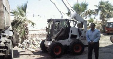 محافظ الجيزة: رفع 800 طن مخلفات ونواتج ذبح بحى الوراق