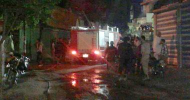 السيطرة على حريق بكنتين مدرسة خاصة فى سوهاج  دون خسائر بشرية
