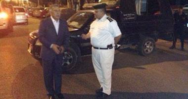 مدير أمن القاهرة يتفقد فجرًا خدمات تأمين وسط العاصمة فى جولة مفاجئة