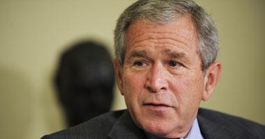الرئيس الأمريكى السابق جورج دبليو بوش